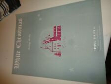 Berlin Irving White Christmas Singer Piano 1942 partition sheet music score