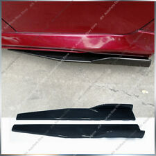 Piar Universal Car Side Skirt Rocker Splitters Winglet Shovel Decorative Winglet
