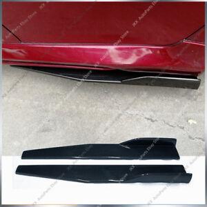 Piar Universal Car Side Skirt Rocker Splitters Winglet Shovel Decorative Winglet
