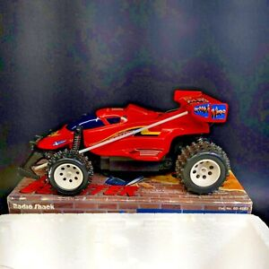 Vintage Radio Shack Red Blaster RC Car Buggy # 60-4083 In Box Tested