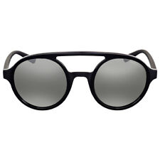 Armani Exchange Light Grey Mirror Aviator Sunglasses