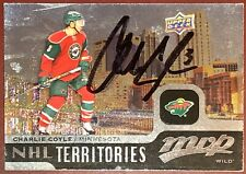 Charlie Coyle Boston Bruins Nhl Stanley Cup auto autograph signed hockey card !
