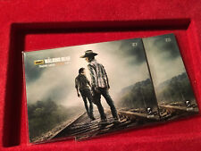 The Walking Dead Trading Cards Season 4 Part 1 Chase Card Z5 and Z7 For Puzzle