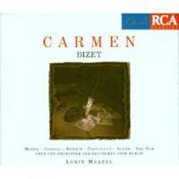 LORIN MAAZEL/ODOB - GEORGES BIZET-CARMEN (FRZ. GA) 2 CD 33 TRACKS OPERA NEU