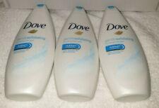 x3 Dove Gentle Exfoliating Body Wash 250ml