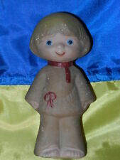 Rare Antique Soviet old VTG Russian baby doll toy military soldiers rubber
