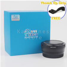 Camera Focal Reducer Speed Booster Adapter For M42 Lens To Micro 4/3 M4/3 E-PL5
