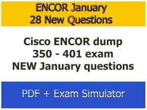 350-401 - Cisco CCNP ENCOR - New 28 Question
