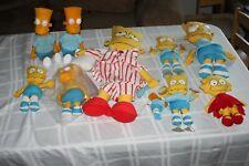 Bart Simpson DanDee Plush Lot Variety Big Eye Pajama Plastic Head The Simpsons