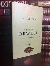 Animal Farm and 1984 by George Orwell Brand New Hardcover Nineteen Eighty Four