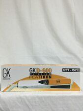 "Global Keratin GK D600 1"" Titanium 450 Degrees Flat Straightening Iron"