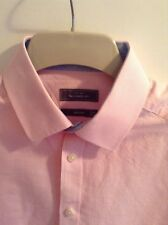 John Lewis Shirt Long Sleeves Pink Tailored Fit, 15.5 medium BNWOT