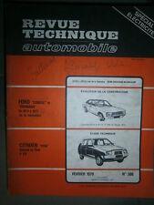Citroën VISA Spécial et Club 4 CV : revue technique RTA 386