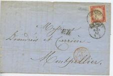 SPASI004c SARDEGNA - 02.01.1861 40cent rosso vermiglio