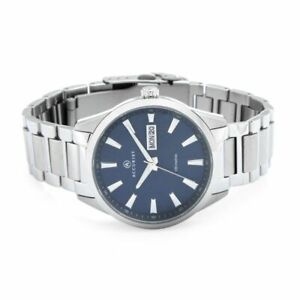 Mens New Accurist Signature Day/Date Sapphire Crystal Watch 100m 7219 Rp £109.99