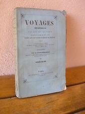 Albert-Montémont : voyages par mer et par terre Tome II voyages en ASIE 1847