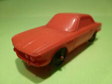 VINYL BMW 3.0 CSI  - RED 1:43 - GOOD CONDITION ( NO TOMTE 2 )