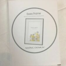 Swing Design Essex Picture Frame, 4 by 6-Inch, Silver Plated. Brand New in Box