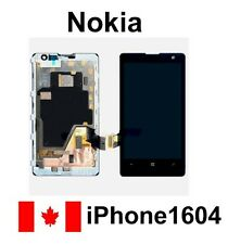 OEM Nokia Lumia 1020 LCD Display Touch Digitizer Screen Assembly + Back Frame