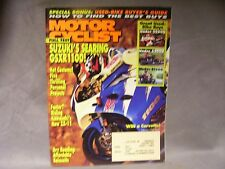 Motor Cyclist 1993 Great Used Bike Buyer's Guide good information to know