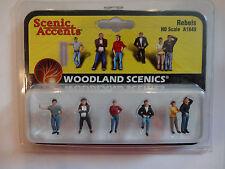 Woodland Scenics Ho #1849 - Rebels