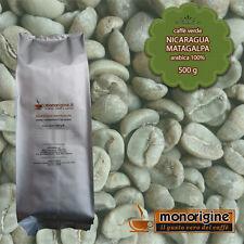 Caffè Verde in Grani Nicaragua Matagalpa El Baron 500 gr - Caffè Arabica 100%