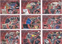 JAMES BOND 2002 40TH ANNIVERSARY BOND EXTRAS COMPLETE INSERT SET BE001-BE0019