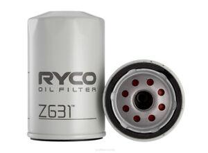 Ryco Oil Filter Z631 fits Jeep Cherokee 3.7 4x4 (KJ), 3.7 Laredo (KJ), 3.7i V...