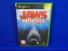 xbox JAWS UNLEASHED *x An Action Adventure Game Microsoft PAL UK ENGLISH Version