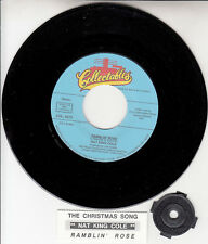 "NAT KING COLE  Ramblin' Rose & The Christmas Song 7"" 45 rpm vinyl record NEW"
