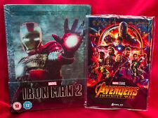 Iron Man 2 - Zavvi Exclusive Lenticular Edition Steelbook + Marvel Art Cards