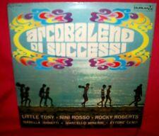 ARCOBALENO DI SUCCESSI LP ITALY 1968 Pop EX+ Little Tony Iannetti Rocky Roberts
