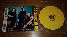 DIROTTA SU CUBA RARO CD single anno 1999 Bang LIVE SIMONA BENCINI ROCK INDIE ITA
