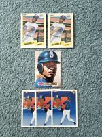 Ken Griffey Jr Baseball Card Mixed Lot of approx 6 cards