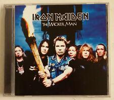 Iron Maiden The Wicker Man Cd-Single Holanda incluye posavasos