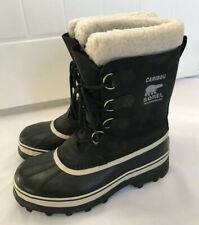 BLACK SOREL CARIBOU WARM WINTER WATERPROOF BOOTS SIZE UK 7.5 WORN ONCE SKIING