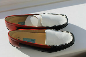 Multifit ladies shoes, bnwt, leather loafers, 8E