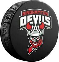 Binghampton Devils AHL Souvenir Hockey Puck