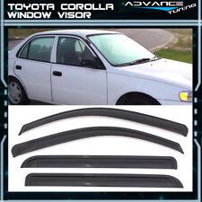 Fits 98-02 Toyota Corolla Acrylic Window Visors 4Pc