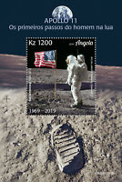 Angola Space Stamps 2019 MNH Apollo 11 Moon Landing 50th Anniv 1v S/S