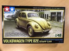 Tamiya 1/48 Military Miniature Series No.31 Volkswagen Type 82E Staff Car Model