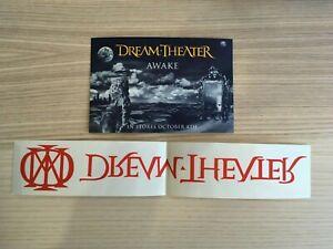 Dream Theater - Awake Original Promo Postcard + Adesivo Stick