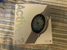 NEW SAMSUNG GALAXY ACTIVE 2 WATCH ( SILVER) 44M ALUMINUM FACTORY SEALED