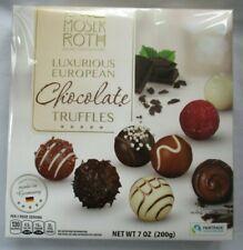 **NEW** MOSER ROTH LUXURIOUS EUROPEAN CHOCOLATE TRUFFLES GIFT BOX - FAST SHIP