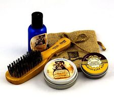 GUNN METAL Complete 2oz Beard Oil Kit in TOBACCO & RUM Scent - FREE SHIPPING
