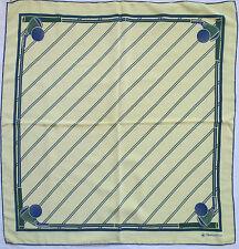 -Superbe Foulard OLGIATA GOLF CLUB 100% soie  TBEG  vintage scarf