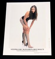 WWE STEPHANIE MCMAHON HELMSLEY P-724 OFFICIAL LICENSED 8X10 PROMO PHOTO RARE