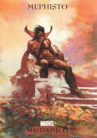 2007 Marvel Masterpieces 1 Trading Card #56 Mephisto