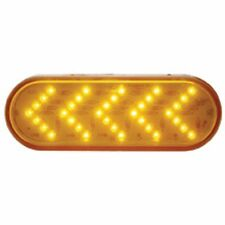 Sequential ARROW TURN SIGNAL (35 LED) Oval light - AMBER/AMBER - SEMI TRUCKS