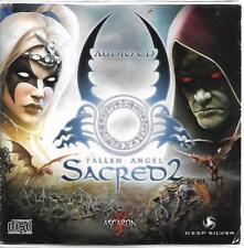 Fallen Angel Sacred 2 soundtrack CD card sleeve